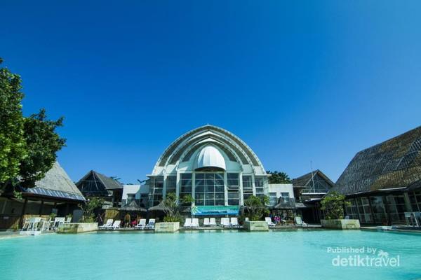 Mengelilingi Pulau Cantik Kabupaten Pandeglang Bangunan Umang Kab