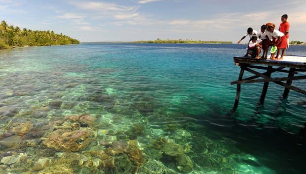 Menikmati Pesona Keindahan Tanjung Lesung Riauinfo Tjh Bawah Laut Pulau
