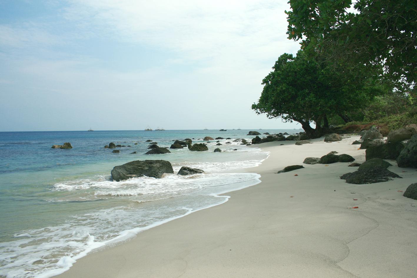 Pantai Tanjung Lesung Perawan Barat Pulau Jawa Umang Kab Pandeglang