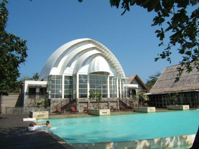 Pulau Umang Andalan Wisata Selatan Pandeglang Berita Hotel Lanscape Atap