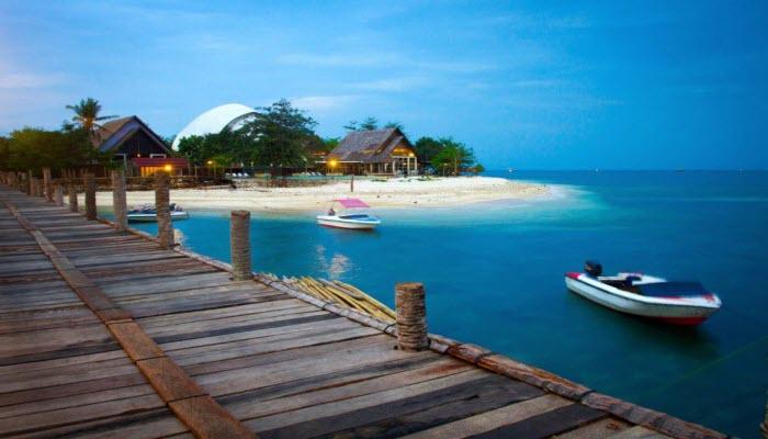 Pulau Umang Menawan Wisata Ujung Kulon Taman Nasional Kab Pandeglang