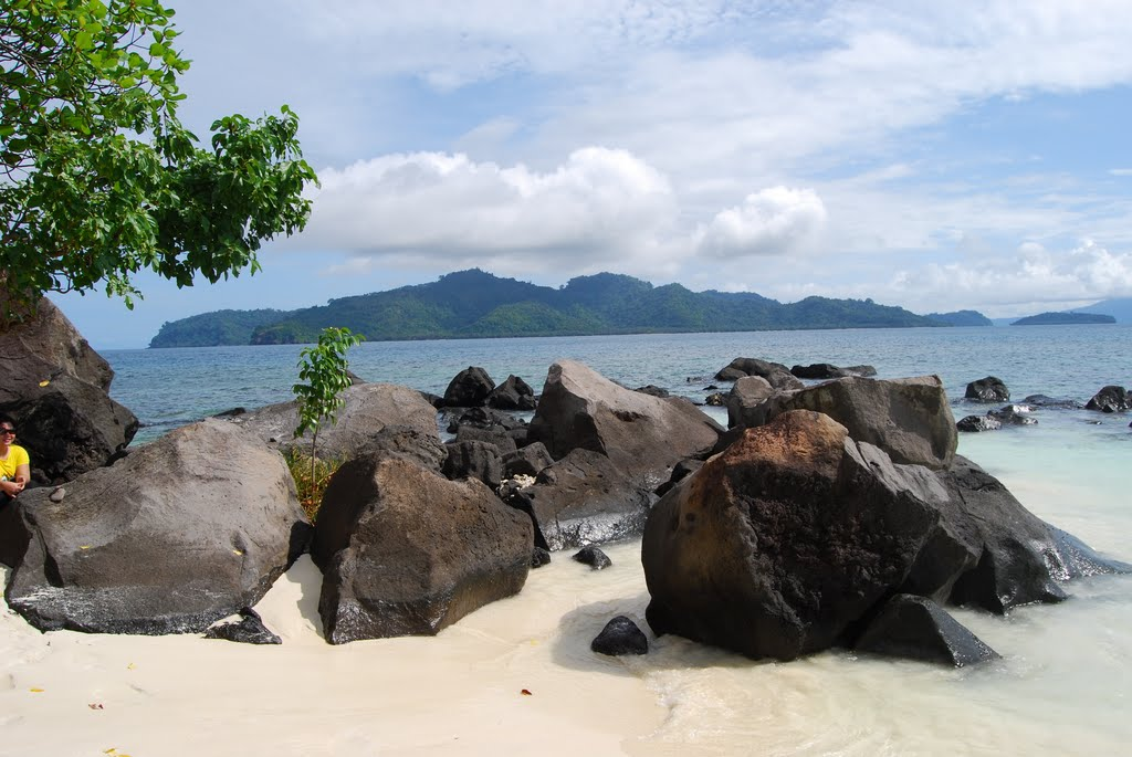 Pulau Umanh Wisata Kecil Informasi Indonesia Umang Bagus Kab Pandeglang