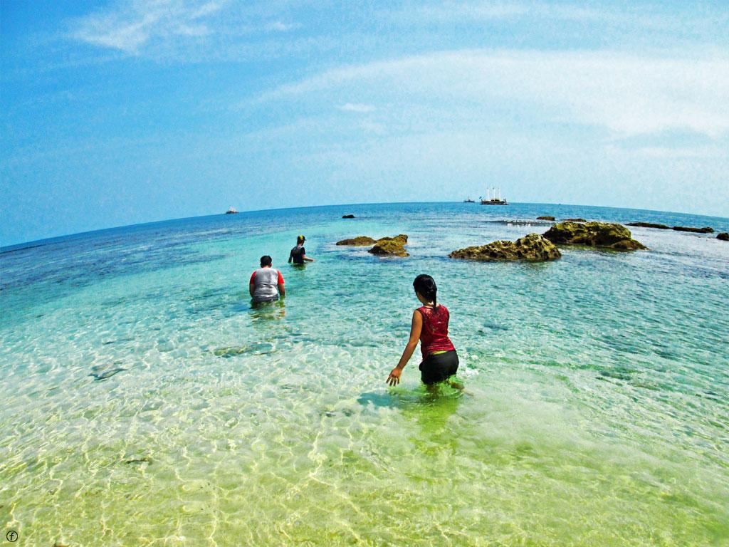 Tempat Wisata Favorit Pandeglang Banten Bandung Pantai Tanjung Umar Pulau
