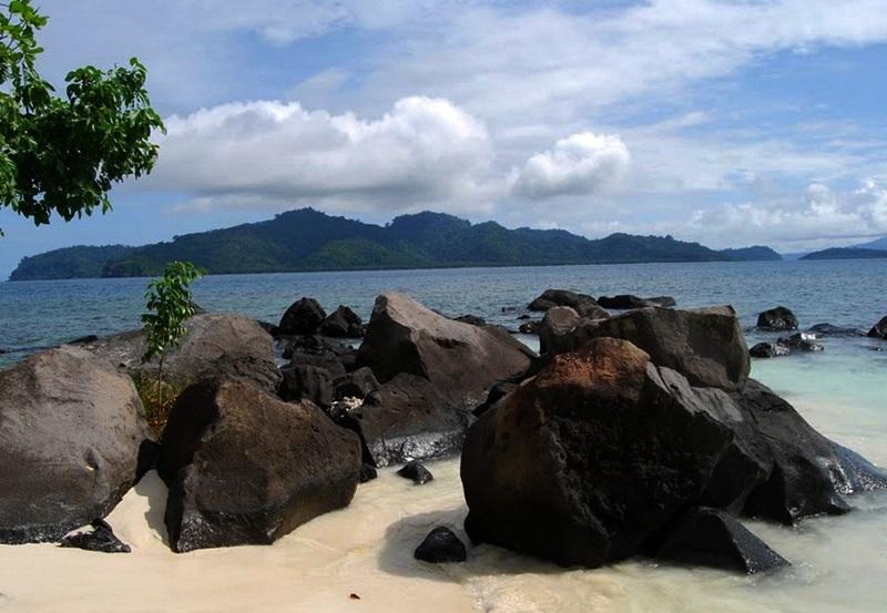 Tempat Wisata Pulau Umang Keindahan Sunset Banten Kab Pandeglang