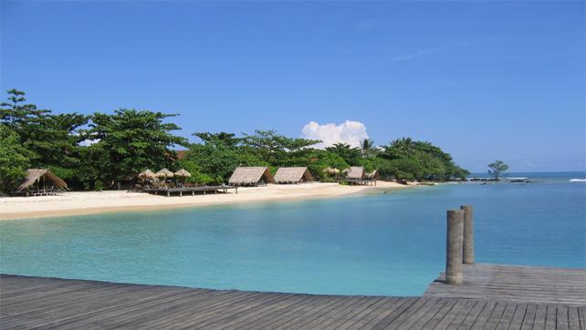Wisata Banten Pulau Umang Aneka Tempat Kab Pandeglang