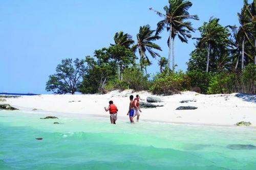 Wisata Pulau Umang Objek Banten Indonesia Kab Pandeglang