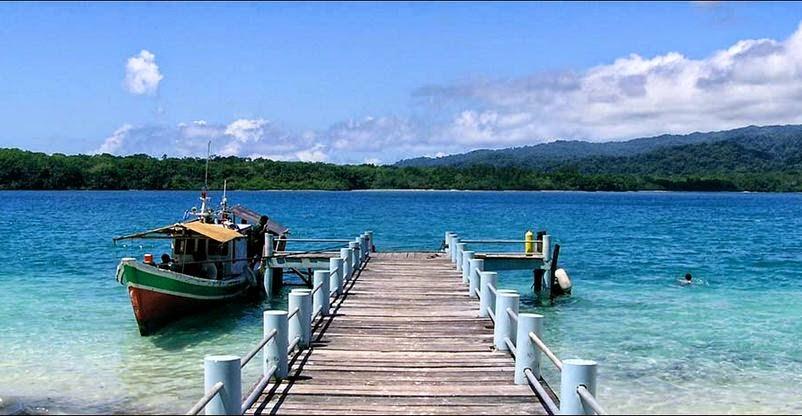 12 Jpg Pulau Peucang Terdapat Selat Panaitan Kabupaten Pandeglang Banten