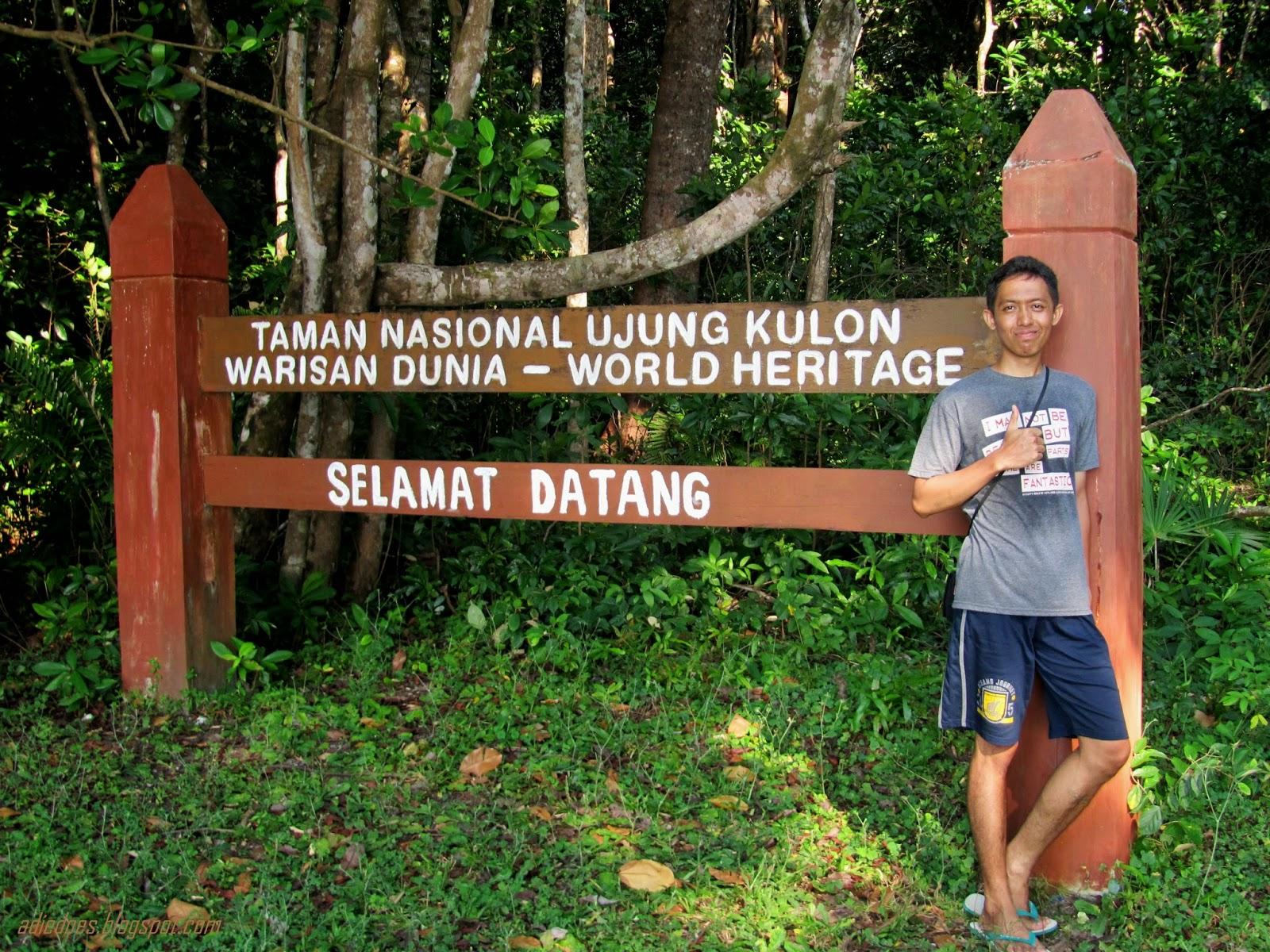 Adie Berburu Badak Jawa Ujung Kulon Selamat Datang Taman Nasional