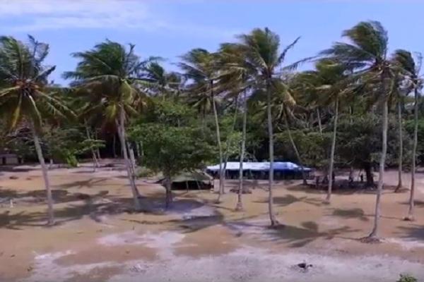 Pulau Handeulum Tempat Kemah Favorit Ujung Kulon Merahputih Kawasan Berkemah