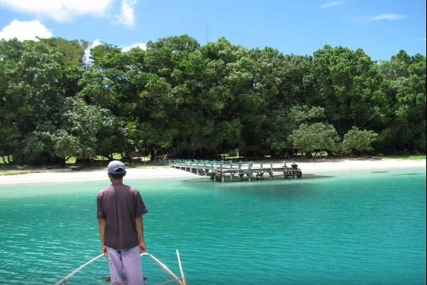 Pulau Peucang Surga Kecil Ujung Kulon Merahputih Pengunjung Sebelum Turun
