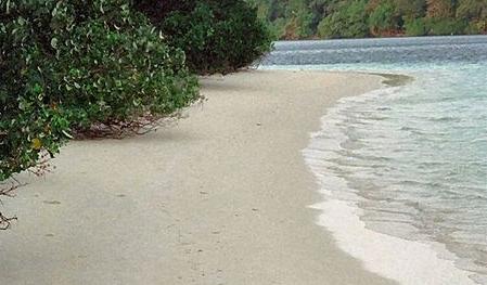 Pulau Peucang Terdapat Selat Panaitan Island Straits Banten Pandeglang East