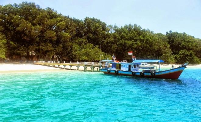 Wisata Alam Pulau Peucang Taman Nasional Ujung Kulon Banten Kab
