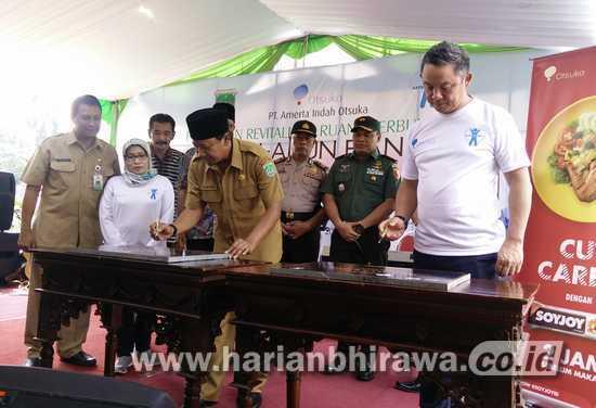 Alun Bangil Kabupaten Pasuruan Direvitalisasi Harian Bhirawa Kab