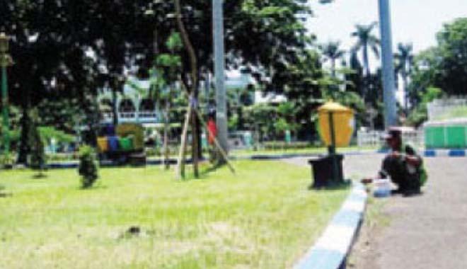Beritametro News Warga Binaan Rutan Bersihkan Alun Bangil Kab Pasuruan