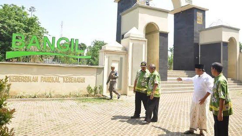 Ditetapkan Sebagai Ibu Kota Kabupaten Pasuruan Bangil Alun Kab