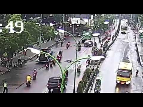 Kecelakan Bunuh Diri Jalan Alun Bangil Kab Pasuruan