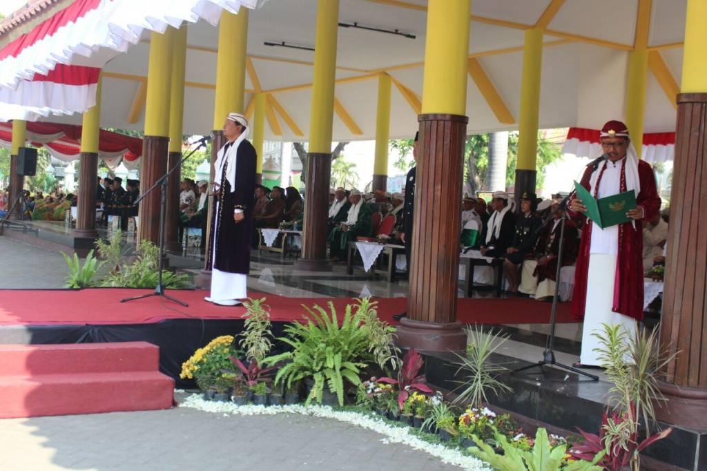 Wakapolres Pasuruan Meriahkan Upacara Hari Jadi Kabupaten 1088 Alun Bangil