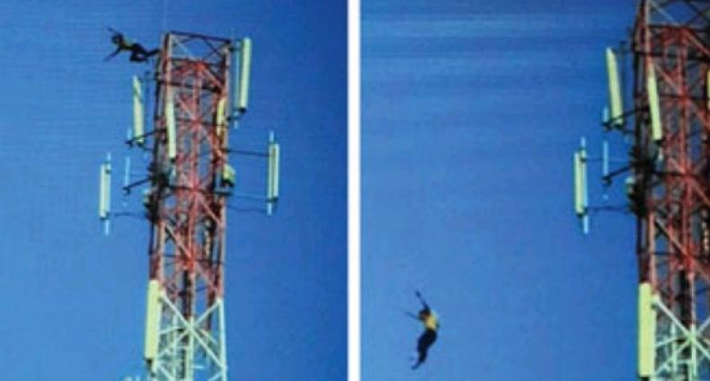 Ya Ampun Siswa Smp Nekat Bunuh Diri Lompat Tower Seluler