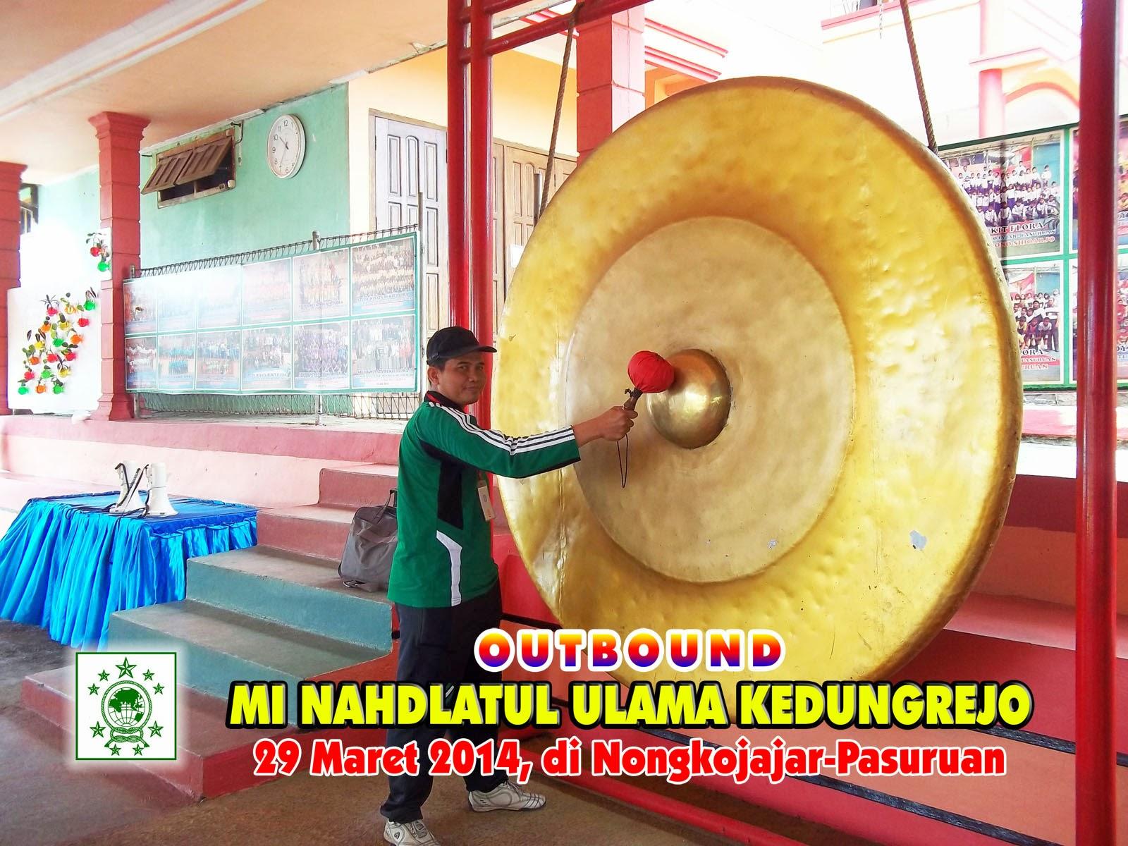Mi Nahdlatul Ulama Kedungrejo Outbound 2014 Bukit Flora Kepala Madrasah