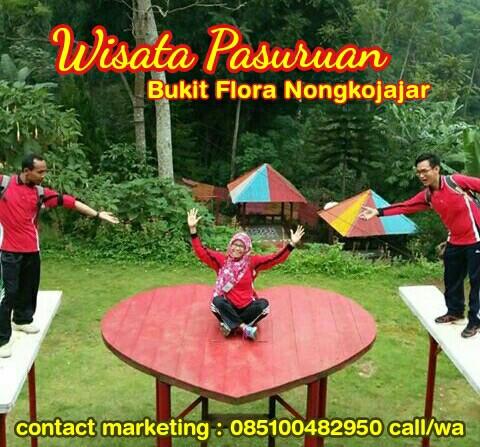 Wisata Nongkojajar 085100482950 Outbound Pasuruan Bukit Flora Lengkapi Aneka Wahana