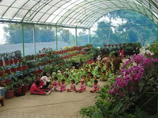 Wisata Pendidikan Bukit Flora Desa Tutur Kecamatan Nongkojajar Kabupaten Pasuruan