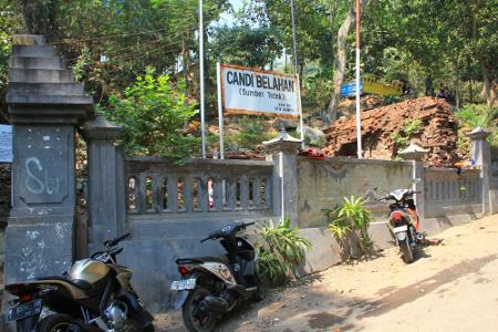 Candi Belahan Peninggalan Kerajaan Airlangga Pasuruan Terletak Desa Terpencil Kabupaten