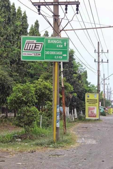 Trip Candi Gunung Gangsir Beji Pasuruan Arah Surabaya Bangil Belahan