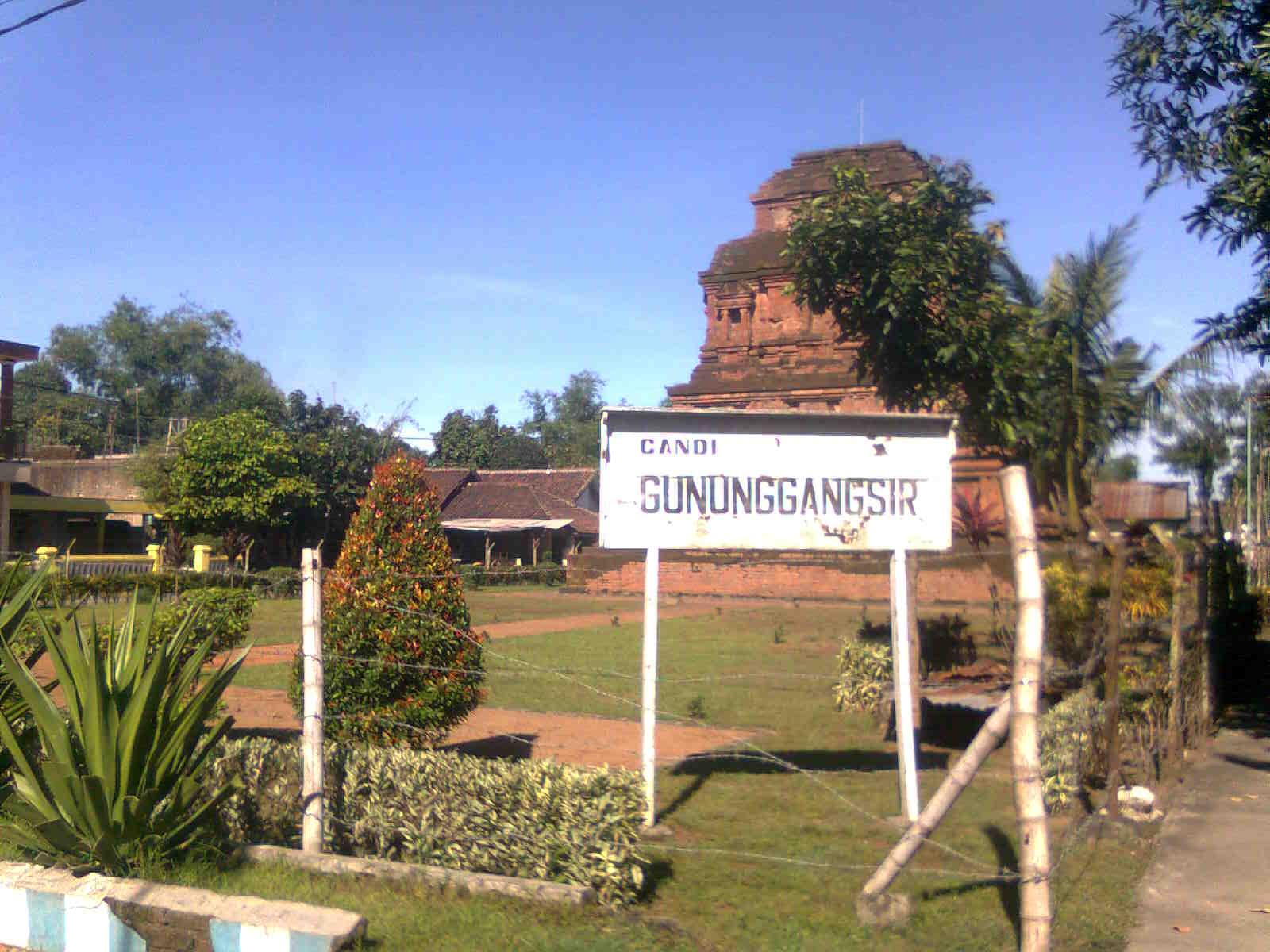 Mengenal Candi Gunung Gangsir Kab Pasuruan