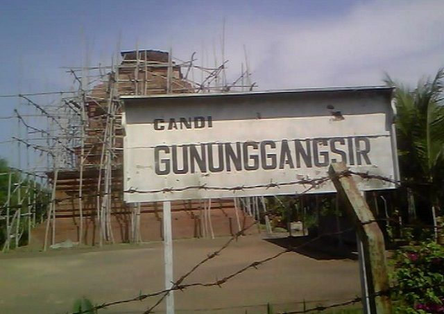 Wisata Candi Gunung Gangsir Pasuruan Terlupakan Tempat Kab