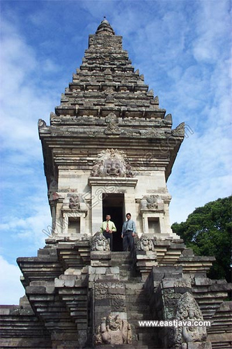Ancient Jawi Temple Pasuruan East Java Indonesia Tropical Candi Kab