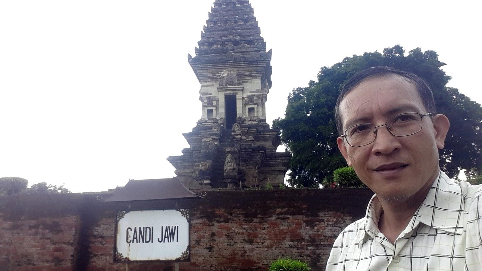 Firdaus Ubaidillah Candi Jawi Prigen Kabupaten Pasuruan Jawa Timur Kilometer