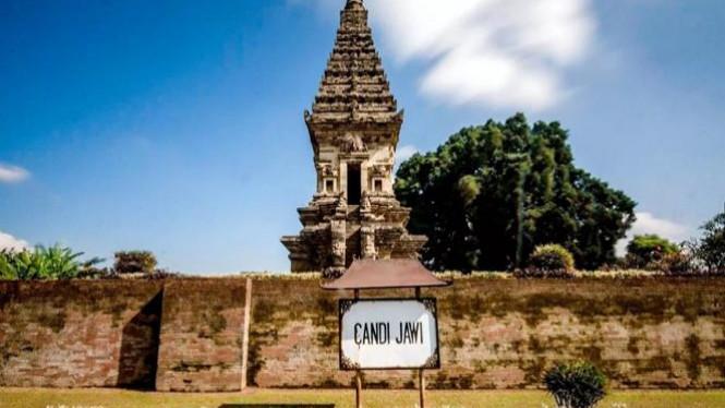 Melihat Pesona Sejarah Candi Jawi Kabutapaten Pasuruan Viva Photo Report