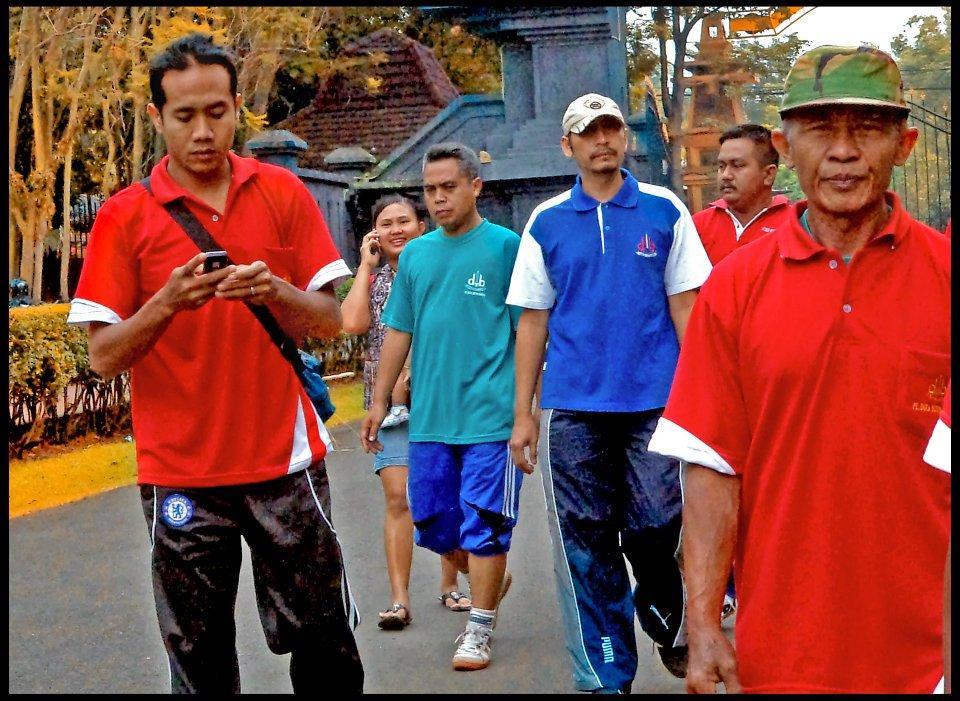Jogging Kebun Raya Purwodadi Dutabetonmandiri Joging Bersama Dilaksanakan Berlokasi Kecamatan
