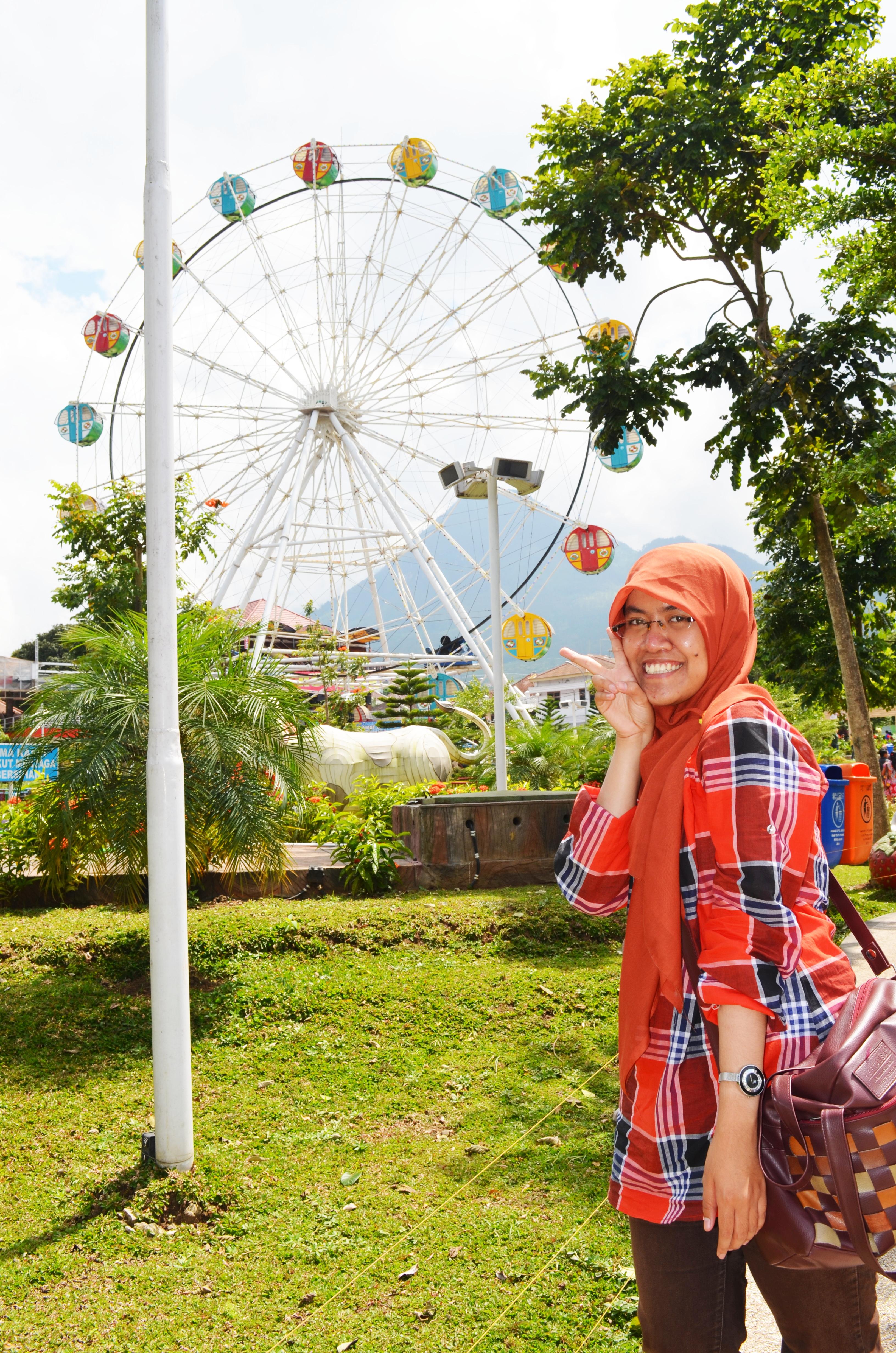 Kabupaten Pasuruan Rainbow Lokasi Kebun Raya Purwodadi Kab Jawa Timur