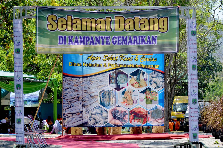 Kebun Raya Purwodadi Kampanye Gemar Makan Ikan 2013 Kab Pasuruan