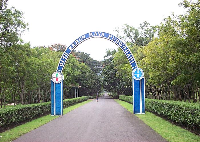 Purwodadi Botanic Garden Short History Park Perkembangannya Diharapkan Cabang Balai