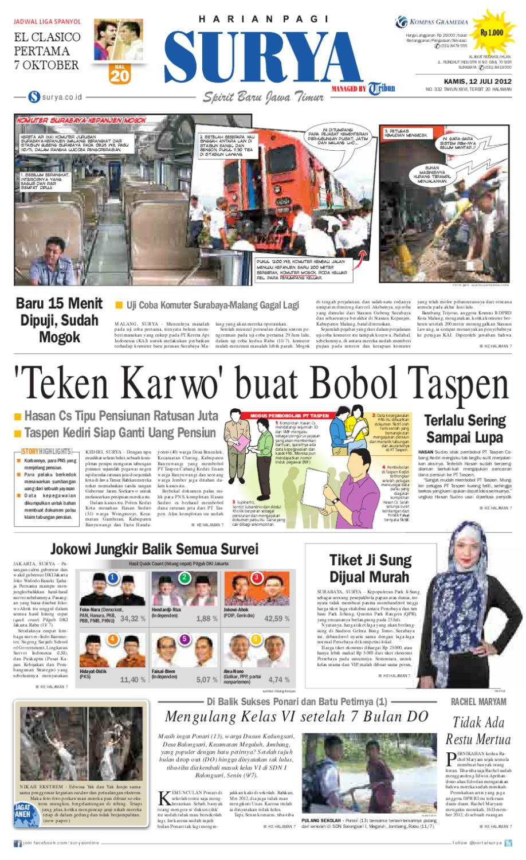 Paper Surya Edisi 11 Mei 2013 Harian Issuu 12 Juli