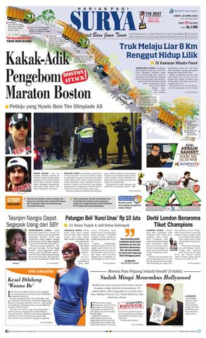Paper Surya Edisi 11 Mei 2013 Harian Issuu 20 April