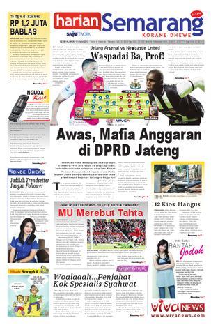 Paper Surya Edisi 24 Mei 2013 Harian Issuu Semarang 120312