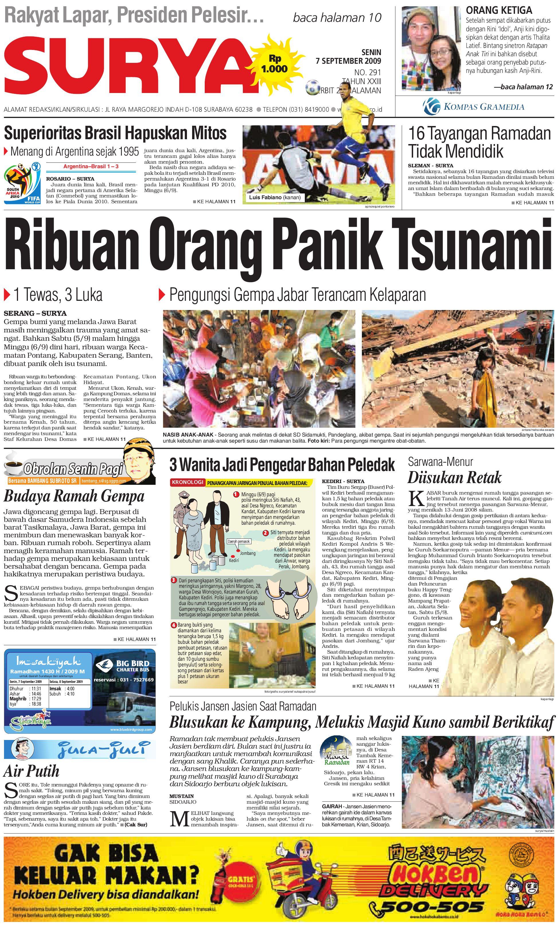 Paper Surya Edisi 27 Desember 2012 Harian Issuu Cetak 07