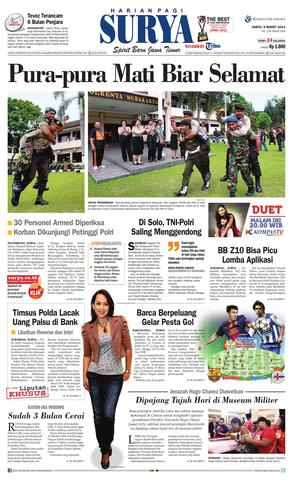 Paper Surya Edisi 9 Maret 2013 Harian Issuu Page 1