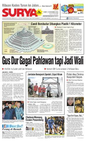 Surya Edisi Cetak 13 November 2010 Harian Issuu 12 Taman