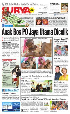 Surya Edisi Cetak 24 Agustus 2010 Harian Issuu 03 Sept