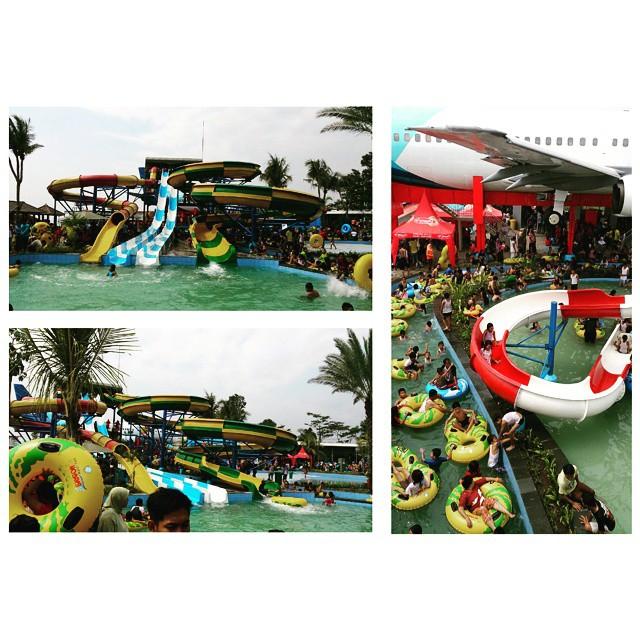 Dpm Ptsp Provinsi Jatim Saygon Waterpark Tawarkan Sensasi Berenang Tengah