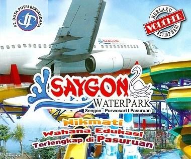 Harga Tiket Masuk Saygon Waterpark Pasuruan Jpg Water Park Wisata