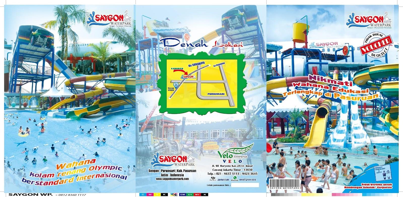 Harga Tiket Masuk Saygon Waterpark Pasuruan Terbaru 2016 Taman Air
