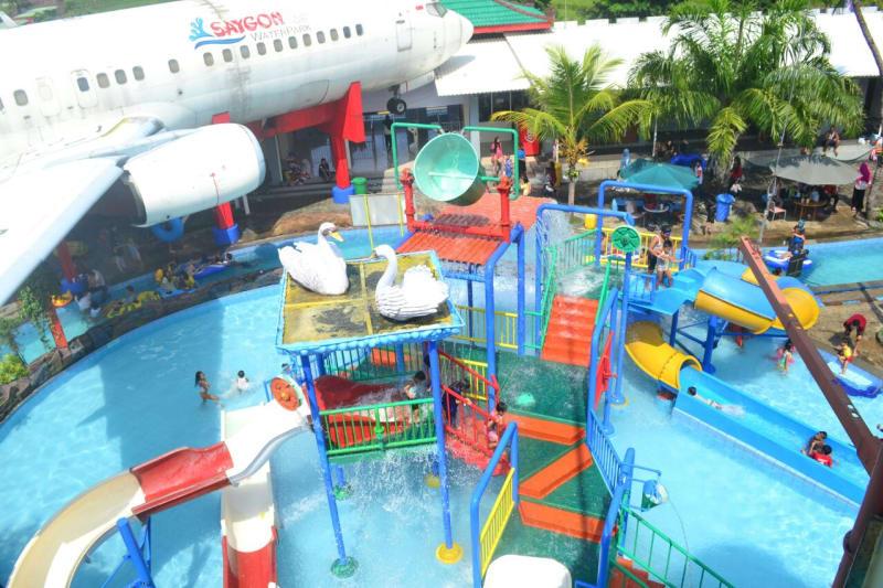 Libur Lebaran Water Park Pasuruan Kurang Diminati Kumparan Taman Air