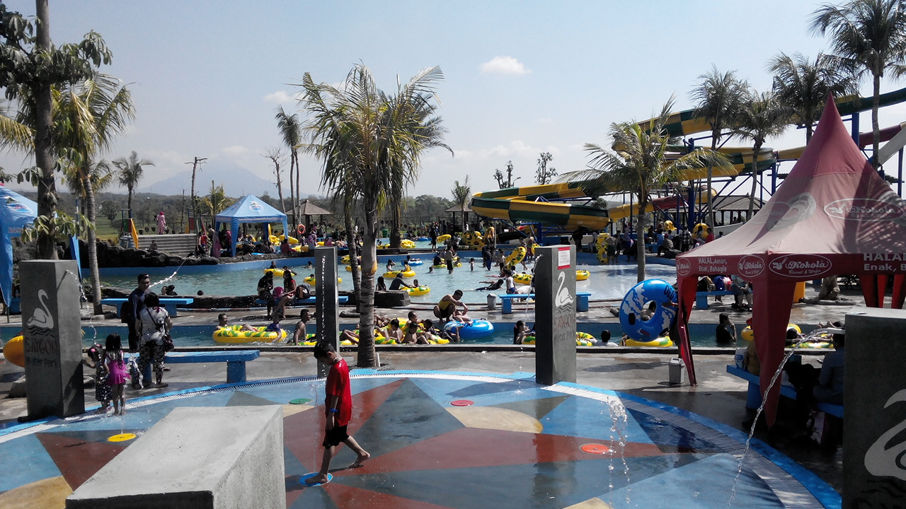 Ruang Berbagi Maen Air Saygon Water Park Pasuruan Taman Kab