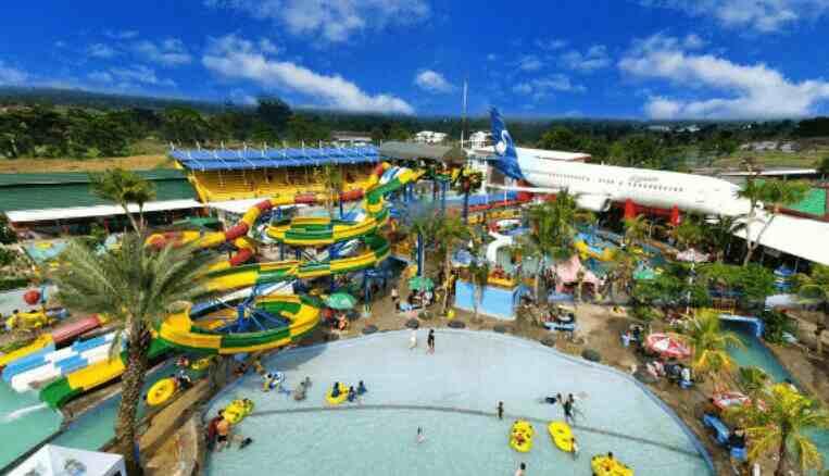 Saygon Waterpark Pasuruan Tiket Alamat Wahana Penginapan Info Taman Air