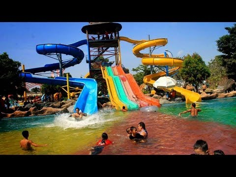 Taman Air Hiburan Terbaik Jawa Timur Youtube Saygon Kab Pasuruan